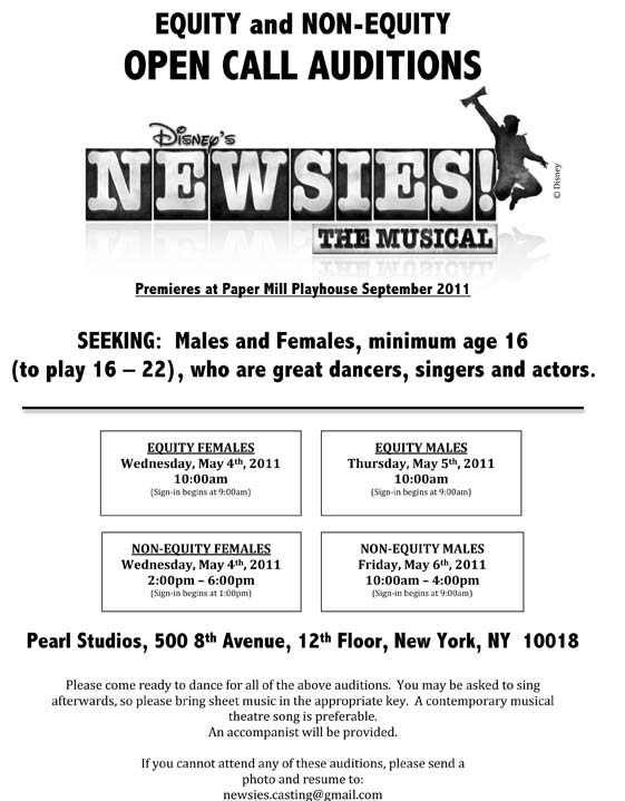newsies-flyer