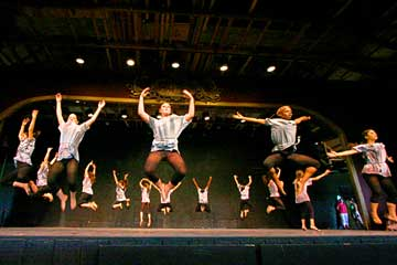 a dance concert at french woods