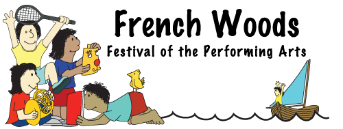 Performing Arts Camp logo: French Woods Festival of the Performing Arts
