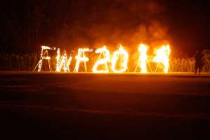 Candle Lighting and Final Burn 2014 camera 2