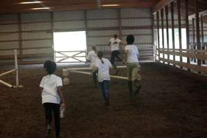 postcamp horseback