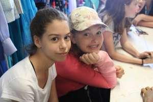 Chloe & Jenni Around Camp