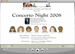 The Making of Concerto Night