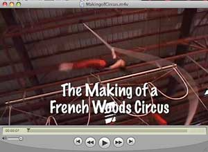 The Making Of Circus video